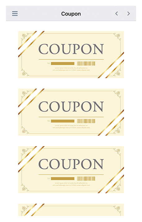 Receive valuable coupons you can use during your stay in Japan!