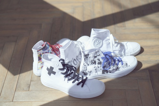 182ffb591b0a A Complete Guide to Customizing Your Own Converse All-Star Sneakers at  White Atelier by Converse