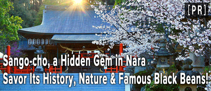 Sango-cho, a Hidden Gem in NaraSavor Its History, Nature & Famous Black Beans!